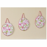 Sweet JoJo Designs Circles Pink Wall Hangings