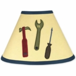 Sweet JoJo Designs Construction Zone Lamp Shade