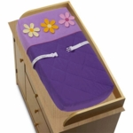 Sweet JoJo Designs Danielle's Daisies Changing Pad Cover