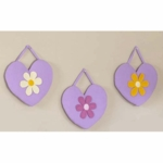 Sweet JoJo Designs Danielle's Daisies Wall Hanging