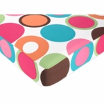 Sweet JoJo Designs Deco Dot Crib Sheet in Large Dots Print