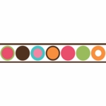 Sweet JoJo Designs Deco Dot Wall Border