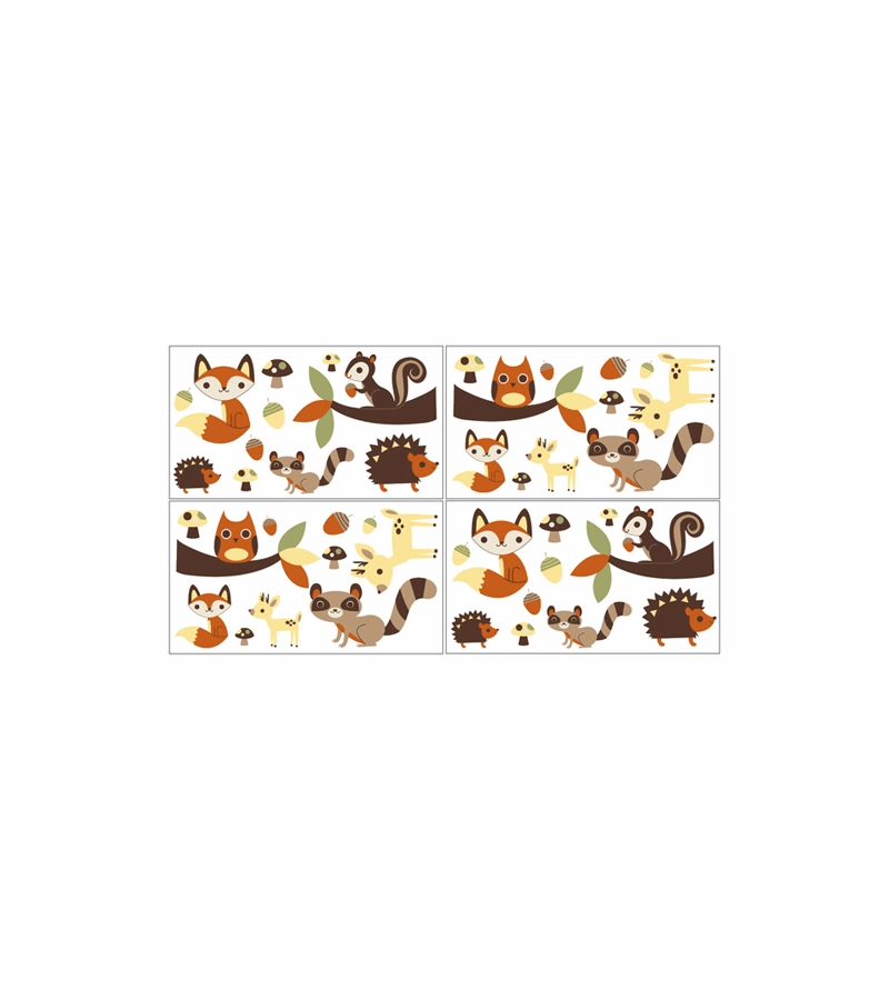sc 1 st  Albee Baby & Sweet JoJo Designs Forest Friends Wall Decals