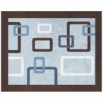Sweet JoJo Designs Geo Blue Rug