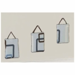 Sweet JoJo Designs Geo Blue Wall Hangings