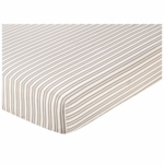 Sweet JoJo Designs Giraffe Crib Sheet Stripe
