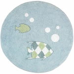 Sweet JoJo Designs Go Fish Rug