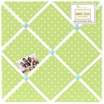Sweet JoJo Designs Hooty Turquoise & Lime Fabric Memo Board