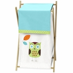 Sweet JoJo Designs Hooty Turquoise & Lime Hamper