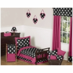 Sweet JoJo Designs Hot Dot 5 Piece Toddler Bedding Set