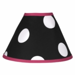 Sweet JoJo Designs Hot Dot Lamp Shade