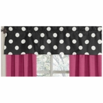 Sweet JoJo Designs Hot Dot Window Valance