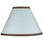 Sweet JoJo Designs Hotel Blue & Brown Lamp Shade
