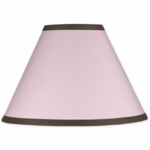 Sweet JoJo Designs Hotel Pink & Brown Lamp Shade