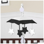 Sweet JoJo Designs Hotel White & Black Musical Mobile