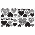 Sweet JoJo Designs Isabella Black & White Wall Decals