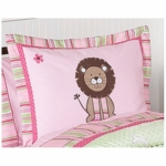 Sweet JoJo Designs Jungle Friends Pillow Sham