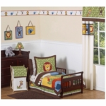 Sweet JoJo Designs Jungle Time 5 Piece Toddler Bedding Set