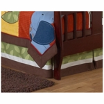 Sweet JoJo Designs Jungle Time Toddler Bed Skirt