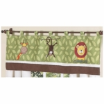Sweet JoJo Designs Jungle Time Window Valance