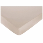 Sweet JoJo Designs Lamb Crib Sheet in Taupe