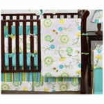 Sweet JoJo Designs Layla 9 Piece Crib Bedding Set