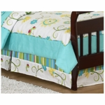 Sweet JoJo Designs Layla Toddler Bed Skirt