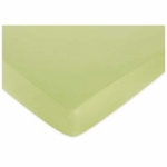 Sweet JoJo Designs Leap Frog Crib Sheet in Light Green