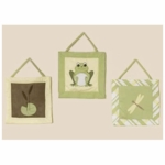 Sweet JoJo Designs Leap Frog Wall Hangings