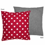 Sweet JoJo Designs Little Ladybug Decorative Throw Pillow