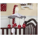 Sweet JoJo Designs Little Ladybug Musical Mobile