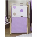 Sweet JoJo Designs Mod Dots Purple Hamper