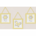 Sweet JoJo Designs Mod Garden Wall Hangings