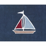 Sweet JoJo Designs Nautical Nights Rug