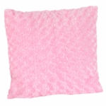 Sweet JoJo Designs Olivia Pink Minky Decorative Throw Pillow