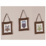 Sweet JoJo Designs Owl Wall Hangings