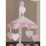 Sweet JoJo Designs Pink Toile Musical Mobile