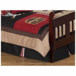 Sweet JoJo Designs Pirate Treasure Cove Toddler Bed Skirt