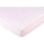 Sweet JoJo Designs Pony Crib Sheet - Plaid
