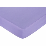 Sweet JoJo Designs Pony Crib Sheet - Purple