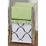 Sweet JoJo Designs Princess Black, White & Green Hamper