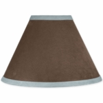 Sweet JoJo Designs Soho Blue & Brown Lamp Shade