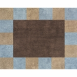 Sweet JoJo Designs Soho Blue & Brown Rug