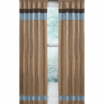 Sweet JoJo Designs Soho Blue & Brown Window Panels - Set of 2