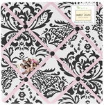 Sweet JoJo Designs Sophia Fabric Memo Board