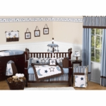 Sweet JoJo Designs Starry Night 9 Piece Crib Bedding Set