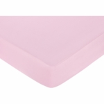 Sweet JoJo Designs Teddy Bear Pink Crib Sheet - Pink
