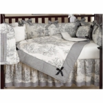 Sweet JoJo Designs Toile 9 Piece Crib Bedding Set