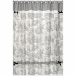 Sweet JoJo Designs Toile Shower Curtain