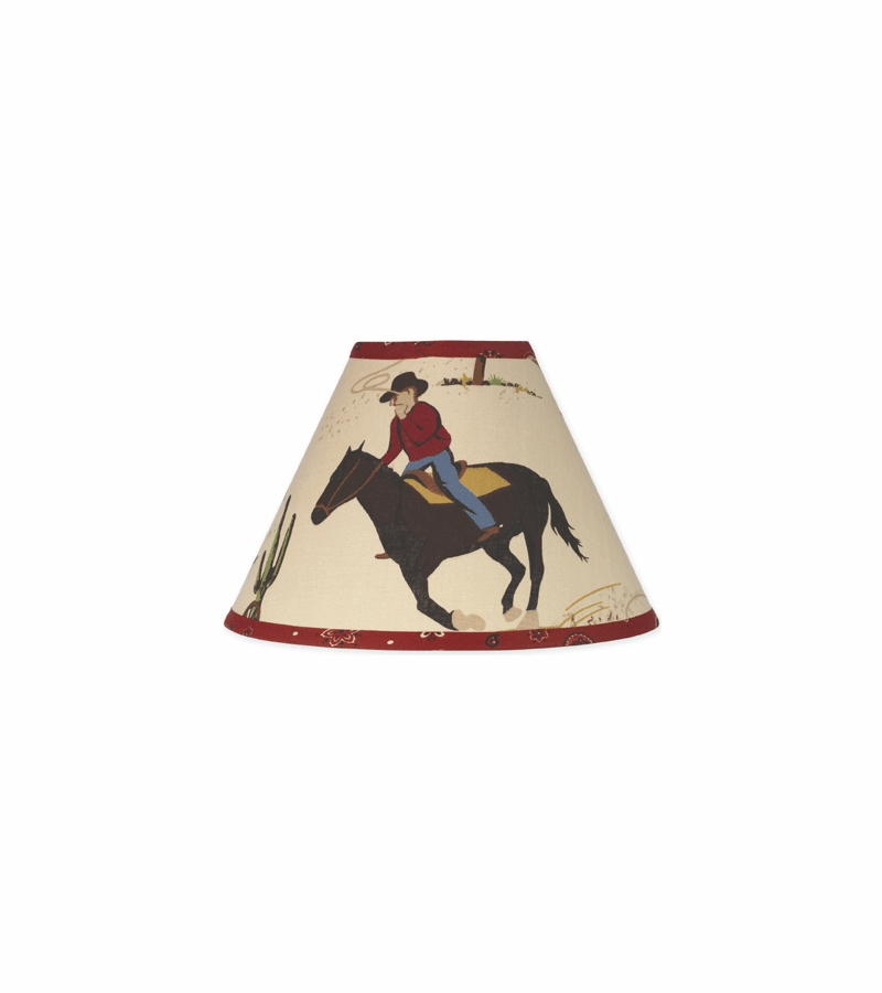 Sweet jojo designs wild west cowboy lamp shade mozeypictures Image collections